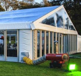Aluminium Tent